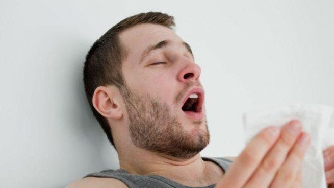 velocidad viaja un estornudo