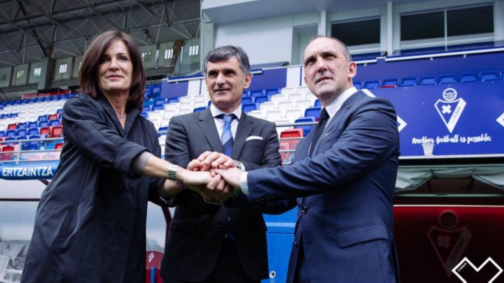 Amaia Gorostiza, Mendilibar y Garagarza (Sociedad Deportiva Eibar)