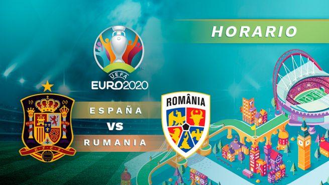 horario españa rumania