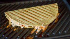 Receta de Quesadillas fritas crujientes