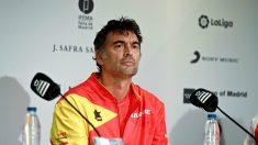 Sergi Bruguera, en rueda de prensa. (EFE)
