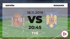 España jugará contra Rumanía en el Metropolitano.