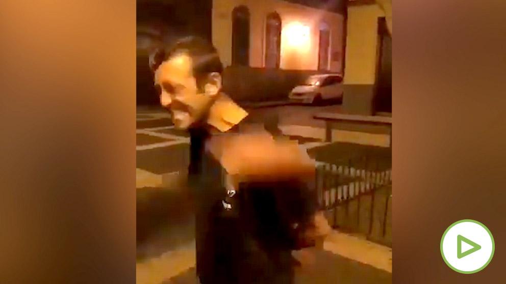 Un joven recibe un terrible puñetazo en Agaete (Canarias)