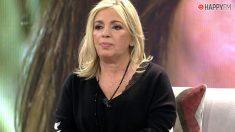 Carmen Borrego se queja en Viva la vida