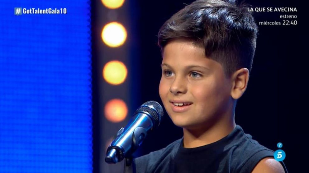 Guille ilusiona en 'Got Talent'