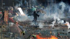 Una manifestación en Hong Kong. Foto: EP