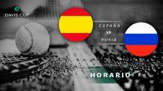 Copa Davis 2019: España – Rusia | Horario del partido de tenis de Copa Davis 2019.