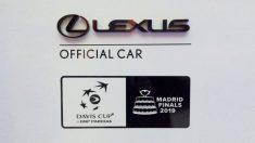 Lexus, patrocinador oficial de la Copa Davis 2019.
