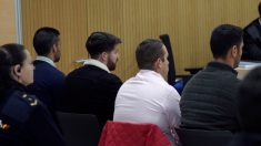 Primera sesión del juicio a miembros de 'La Manada' acusados de abusos sexuales. Foto: EP