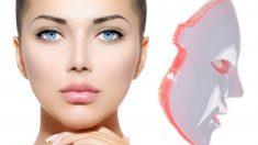 La máscara facial LED tiene propiedades muy beneficiosas para la piel