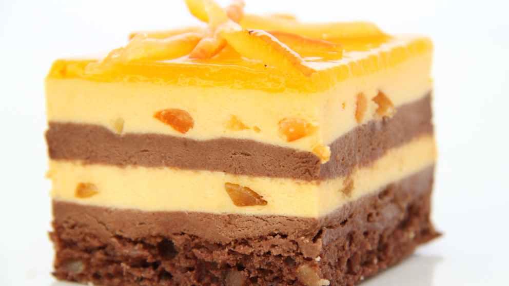 Receta de Panacota de naranja y chocolate