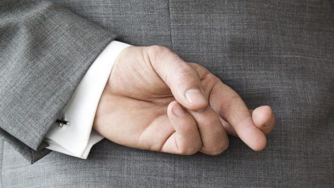 cruzamos los dedos para atraer la suerte