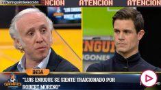 Inda explicó los motivos de la caída de Robert Moreno.