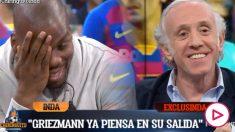 Antoine Griezmann piensa en el PSG.