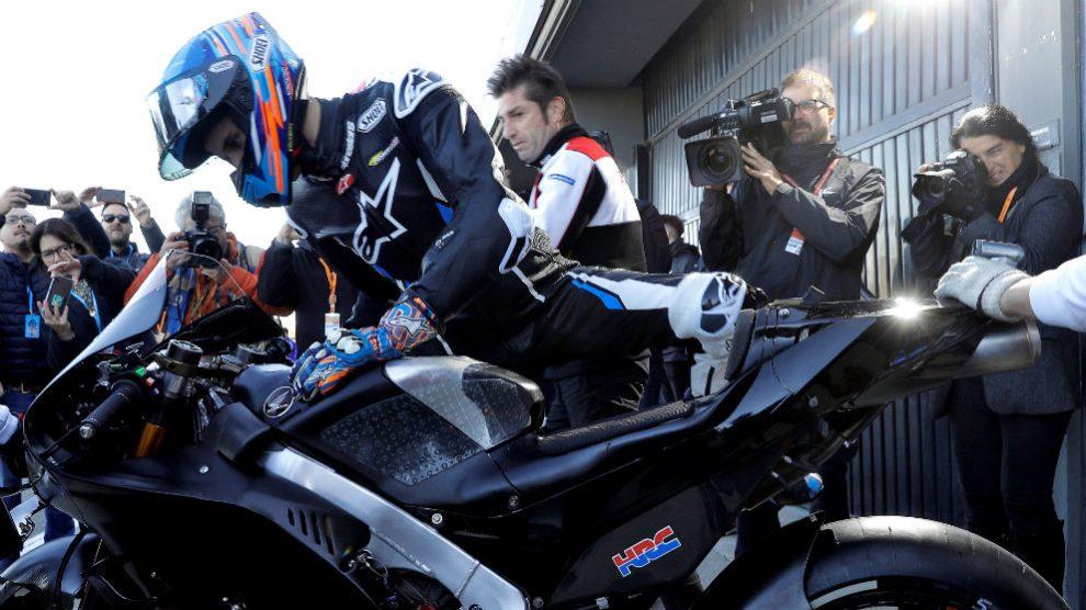 Álex Márquez se sube a la Honda. (EFE)