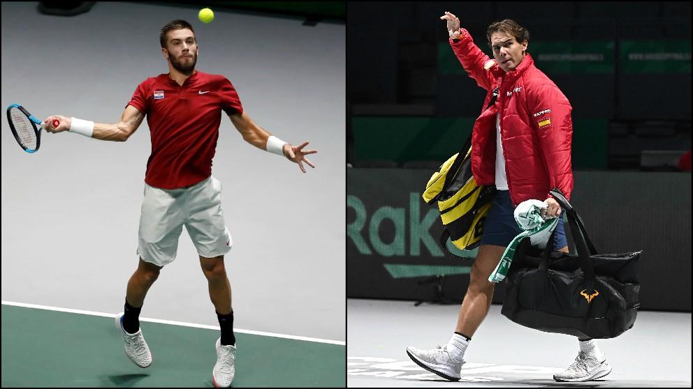 Partidos hoy Copa Davis, 20 de noviembre. (EFE)