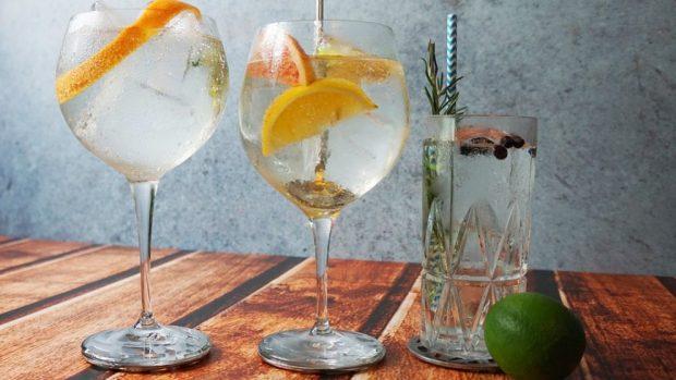 Receta de gelatina de Gin Tonic con limón