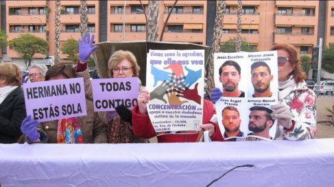 Manifestación contra 'La Manada'. Foto: EP