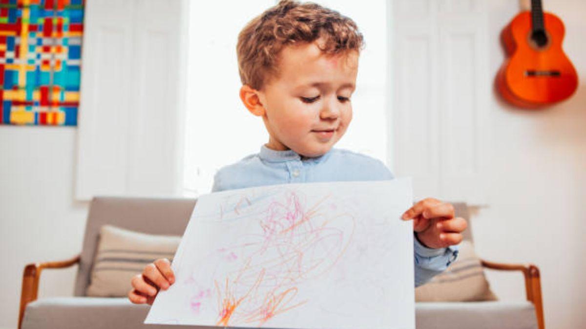 Descubre qué son los garabatos de los niños y qué significado tienen