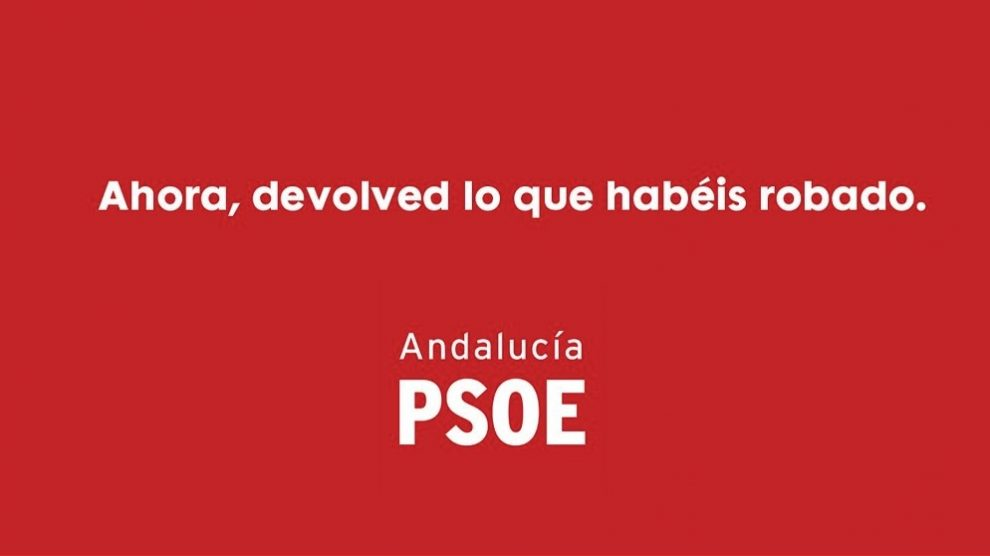 Tuit de Teresa Rodríguez sobre la sentencia de los ERE.