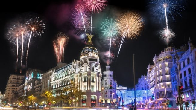 cenar en Nochevieja en Madrid