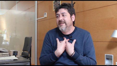 Josep Nadal, de Compromís. Fuente: Youtube.