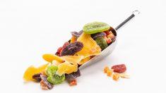 La fruta deshidratada conserva todas sus propiedades