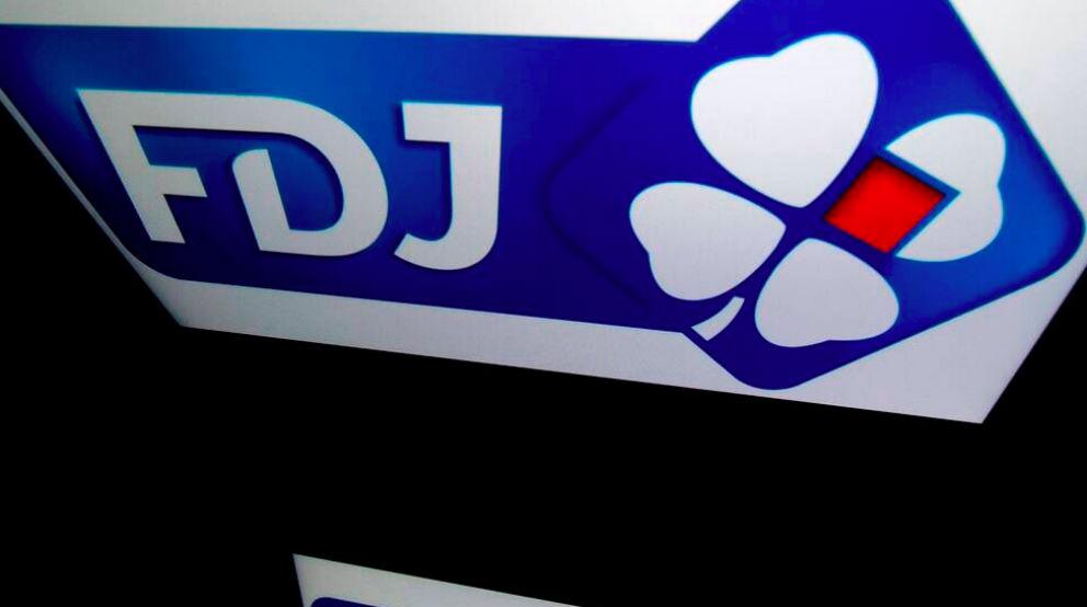 Logotipo de la Loterías francesa, llamada la Française des Jeux
