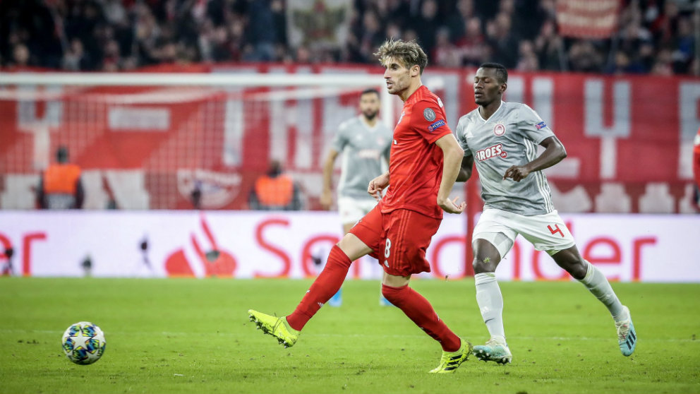 Javi Martínez con el Bayern de Múnich (@Javi8martinez)