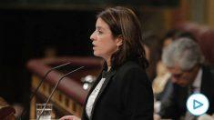 Adriana Lastra en el Congreso de los Diputados. (Foto: Francisco Toledo).