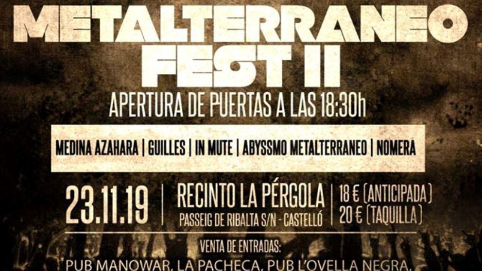 El Metalterráneo Fest llega nuevamente a Castellón para traer lo mejor del metal en un solo festival