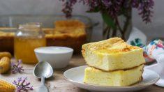 Pastel de maíz y queso
