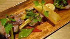 Receta de Ternera con setas y verduras al estilo chino
