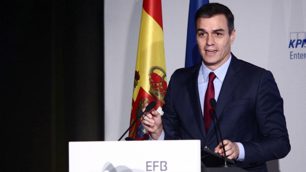 Pedro Sánchez clausura el VI Congreso de las Empresas Familiares Europeas en Madrid