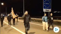 Un catalán se harta de los CDR que cortan la frontera con Francia.