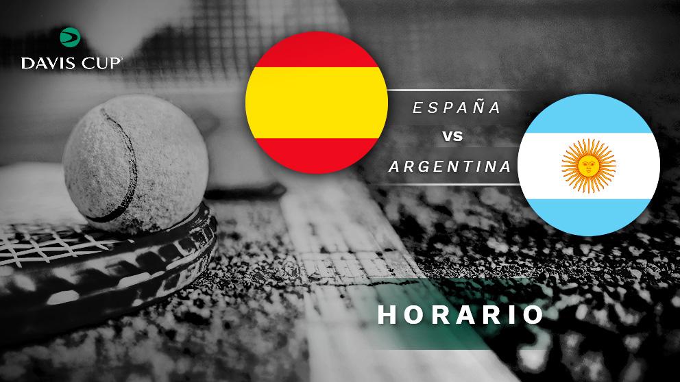 Copa Davis 2019: España – Argentina| Horario del partido de tenis de Copa Davis.