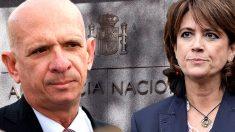 Hugo Carvajal y Dolores Delgado.