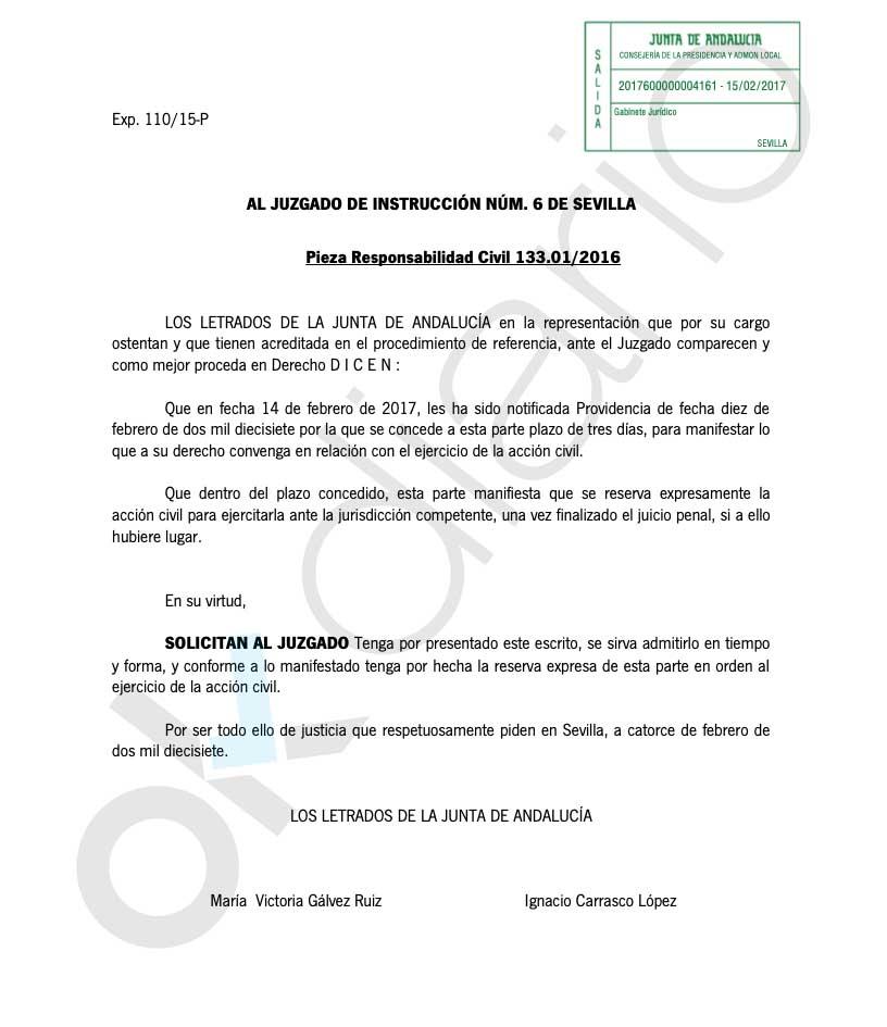 Sánchez pudo exigir la devolución de los 680 millones robados en los ERE y no lo hizo