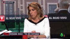 Susana Díaz en laSexta. Foto: EP