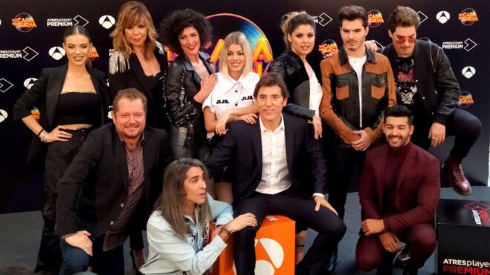 Manel Fuentes con el casting de 'Tu cara me suena 8'