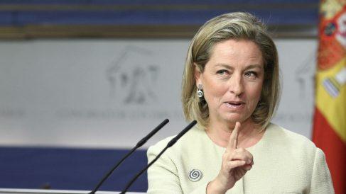 Ana Oramas, diputada de Coalición Canaria (Foto: EP).