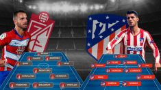 Granada y Atlético se enfrentan en Los Cármenes