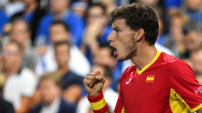 Pablo Carreño – Pella: Resultado y resumen del partido hoy España vs Argentina de la Copa Davis, en directo