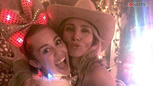 Elsa Pataky y Miley Cyrus