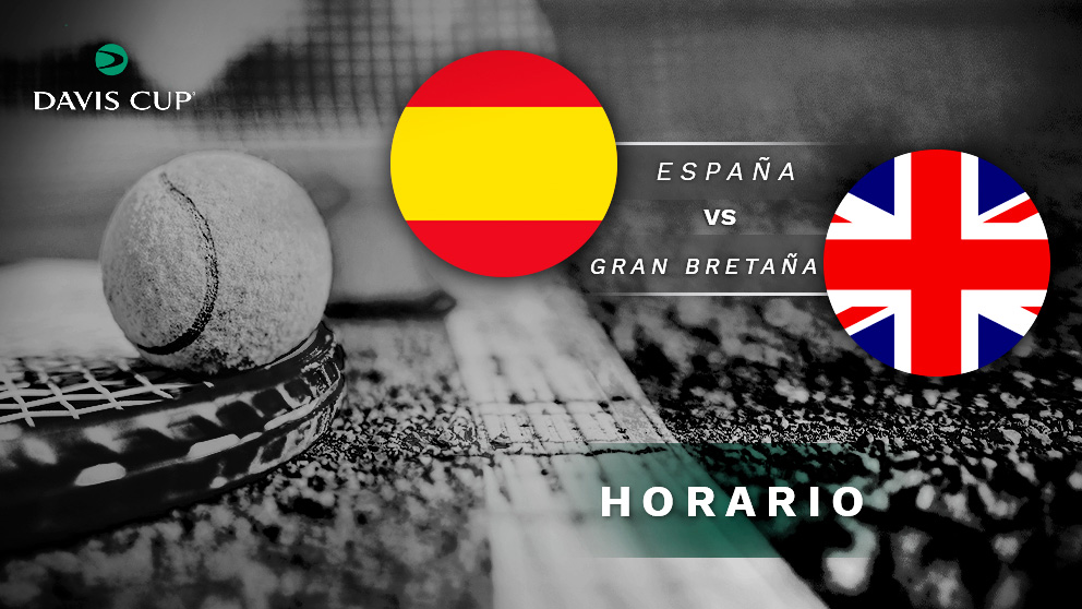Copa Davis 2019: España – Gran Bretaña| Horario del partido de tenis de Copa Davis.