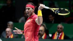Rafa Nadal – Shapovalov: Horario y dónde ver el partido España vs Canadá de la final de Copa Davis hoy