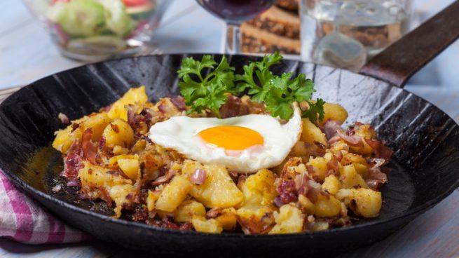 Patatas a la tirolesa