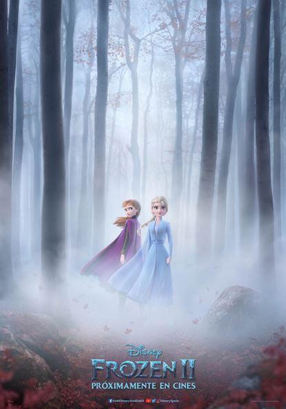 Cartel de 'Frozen 2', la esperada secuela del gran éxito de Disney.
