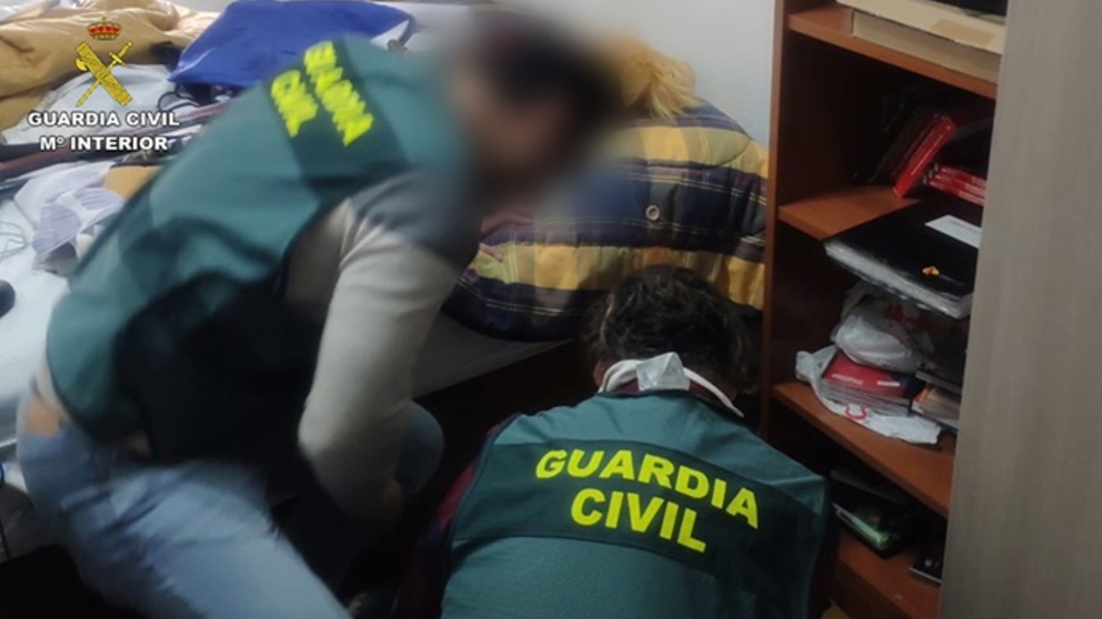 Agentes de la Guardia Civil. Foto: EP