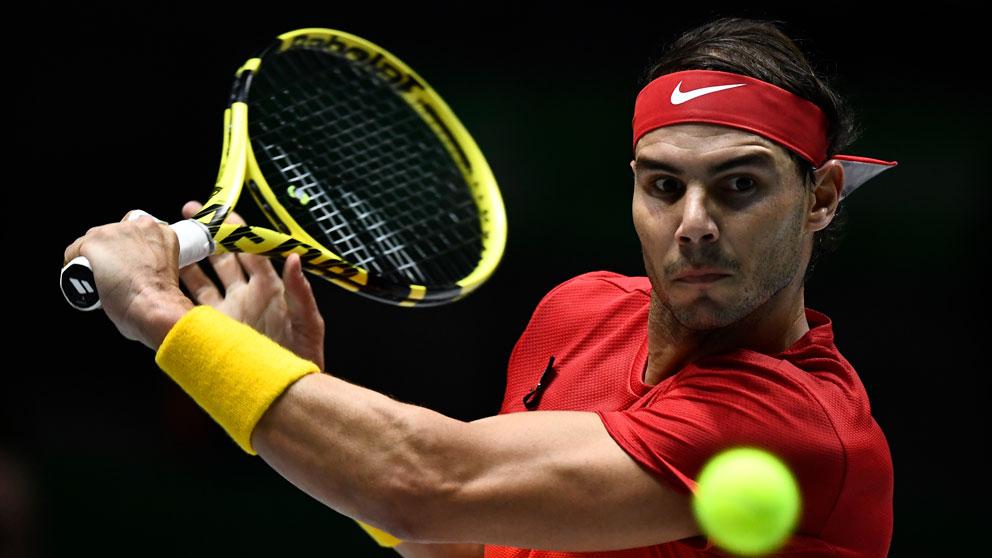 Rafa Nadal – Evans: Partido España vs Gran Bretaña de Copa Davis 2019